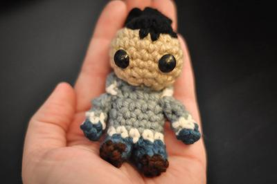 Pocket Sokka Amigurumi Crochet Pattern