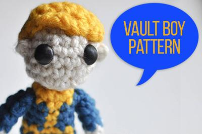 Vault Boy Crochet Pattern