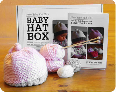 Baby Hat Knitting Kit