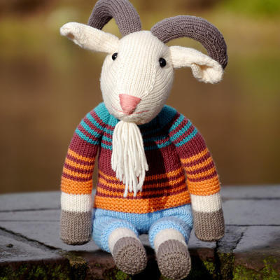 ERICH THE GOAT knitting pattern