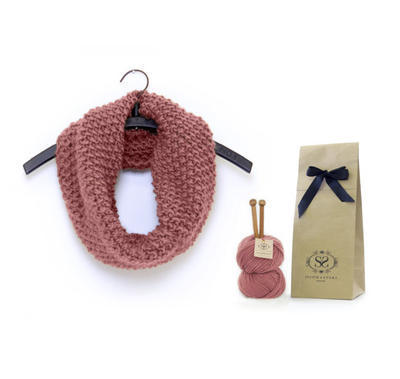 Beginners Cowl Knitting Kit