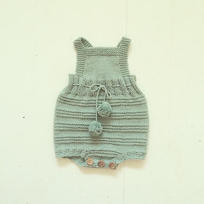 Billie baby Romper Suit - Knitting Pattern