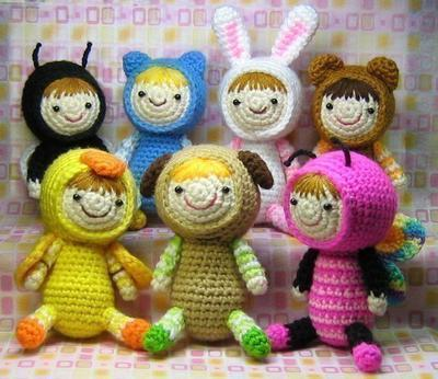 Amigurumi Costume Party