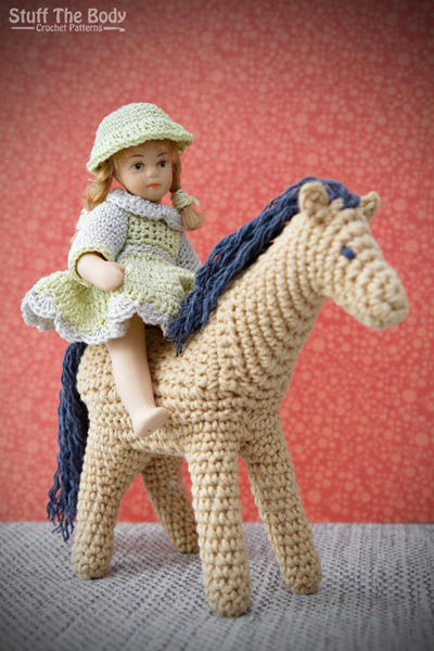 Curly Pony Amigurumi Pattern