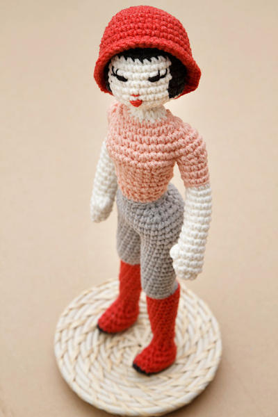 Girl Crochet Pattern