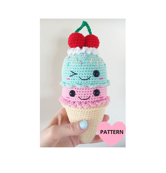 Big Icecream - PDF pattern