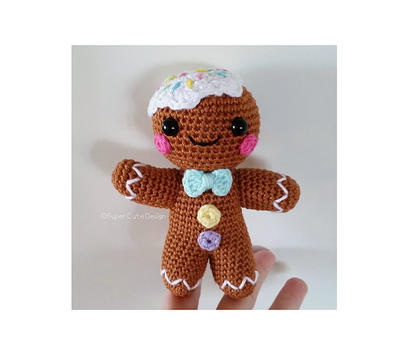 Gingerbread PDF Pattern