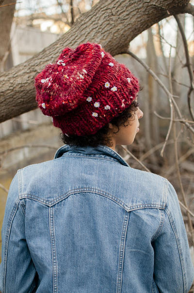 Simply Slouchy Hat PDF Knitting Pattern