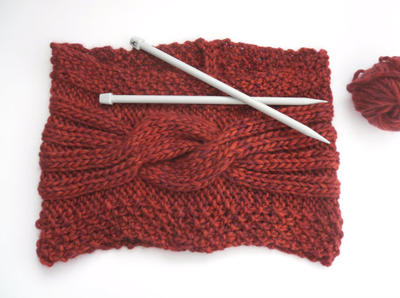 Knitting pattern for Womens stole