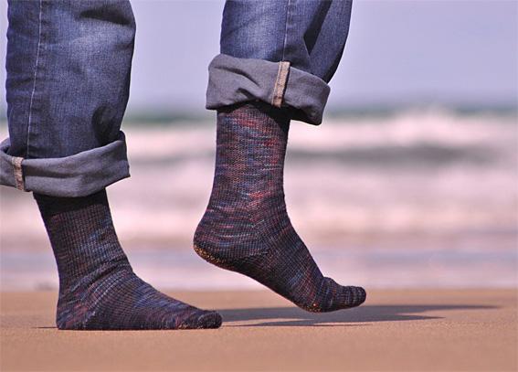Indigo Rainbow Socks