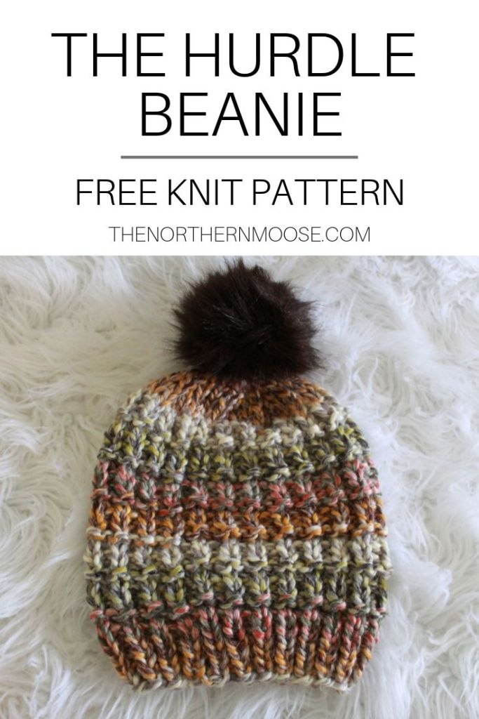 The Hurdle Stitch Hat Pattern