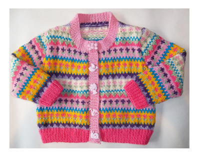 Toddler Fair Isle Cardigan