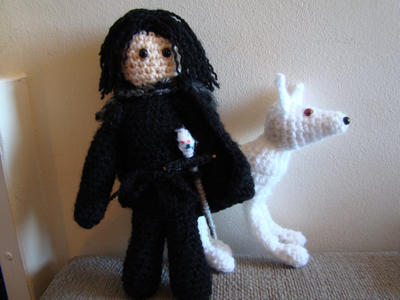 Crochet pattern Jon Snow Game of Thrones