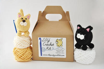 DIY Crochet Kit - Mini Cat