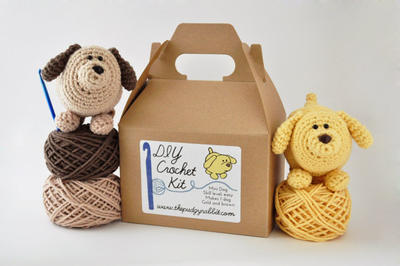 DIY Crochet Kit - Mini Dog