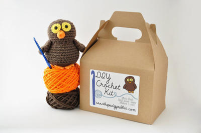 DIY Crochet Kit - Mini Owl
