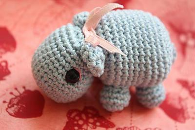 Amigurumi Crochet Hippo PDF Tutorial