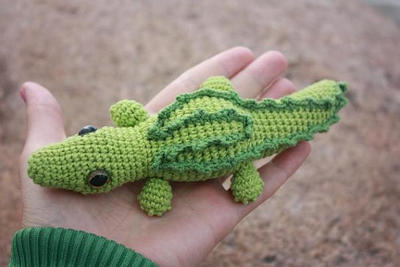 Amigurumi Crocodile PDF Tutorial