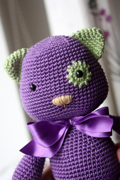 Amigurumi Kitty Pattern- Crochet Cat Pattern