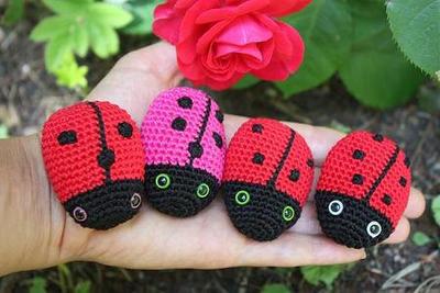 Amigurumi Ladybug Crochet Pdf Tutorial