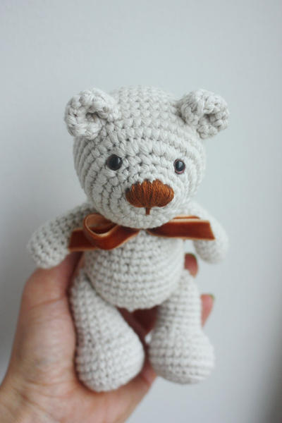 Little Teddy Bear Crochet Pattern