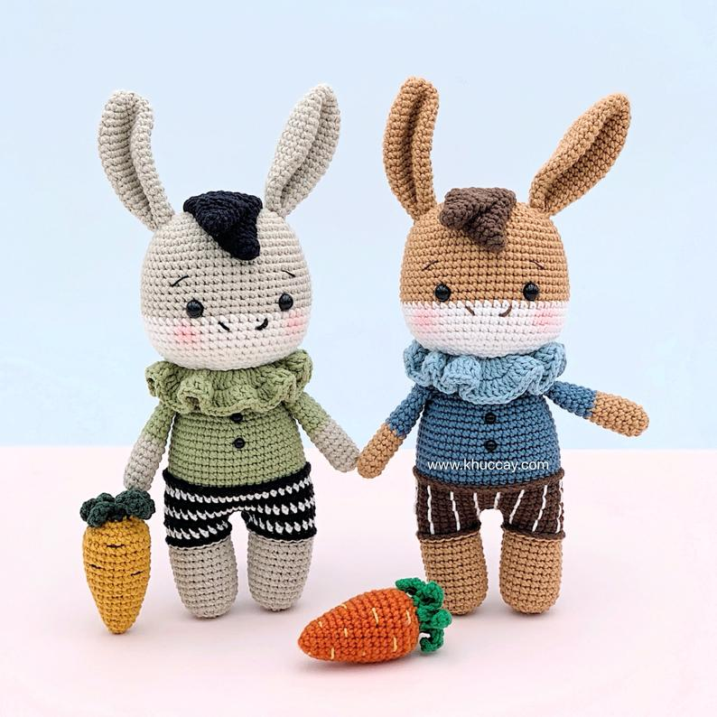 Laurence Donkey the Ami - Amigurumi Crochet Pattern | 794x794