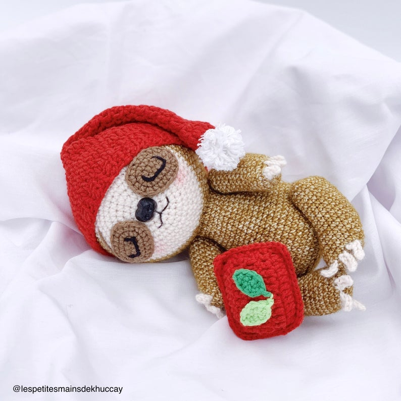 Dodo the baby sloth Crochet Pattern