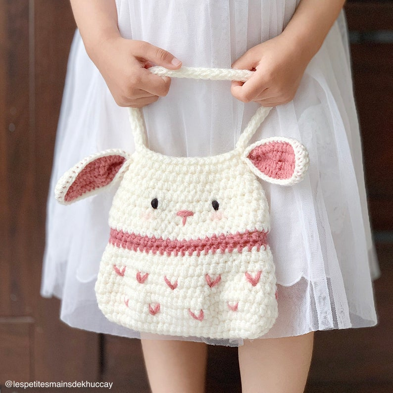 FREE Crochet pattern: Little Bunny Bag