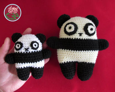 Amigurumi Bear Family Combo (2 sizes)