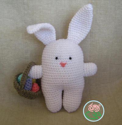 Amigurumi Bunny, Easter Style