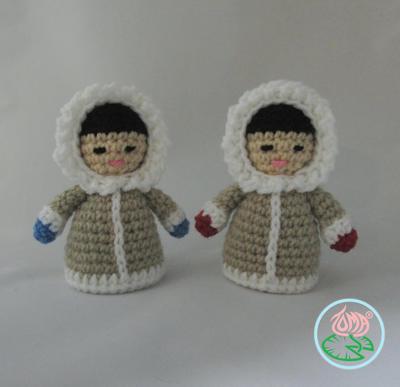 Amigurumi Esquimal Doll