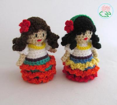 Amigurumi Gypsy Doll