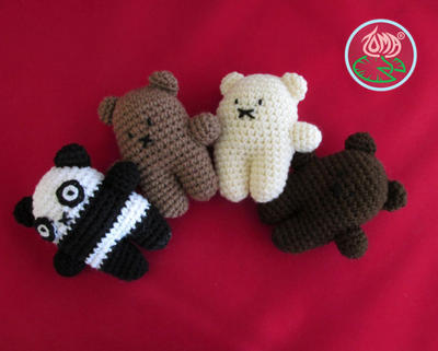 Mini Bear Family