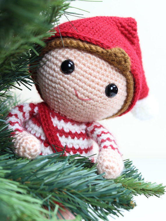 Christmas Elf Amigurumi Pattern