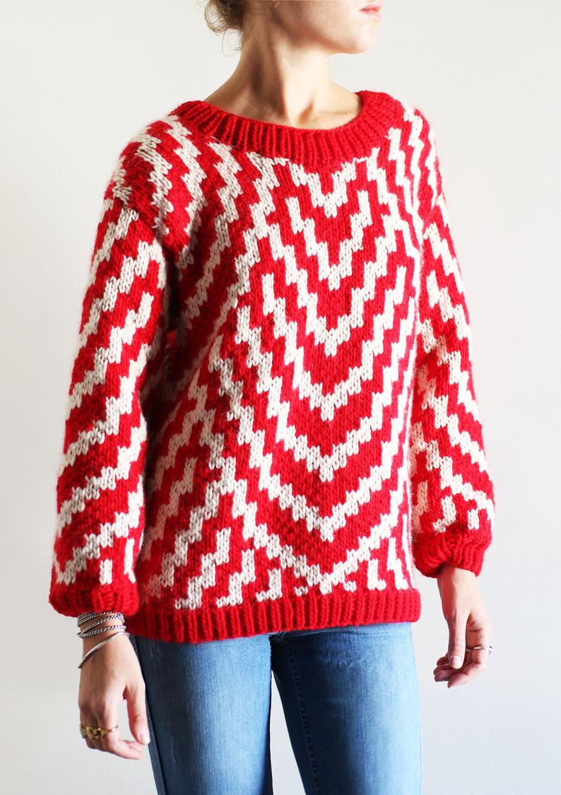 Gyozo sweater - knitting pattern