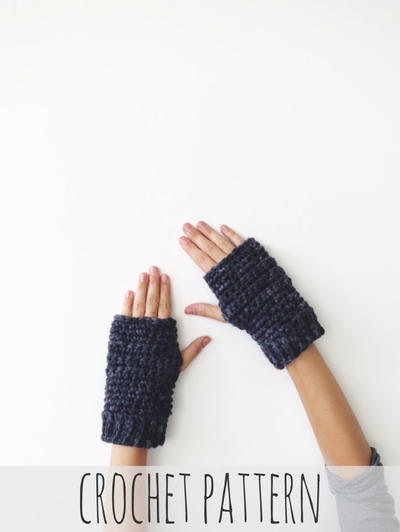 L'Opéra Fingerless Gloves PATTERN