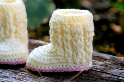 Baby Boot Pattern