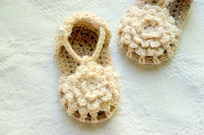 Baby Booties Crochet Pattern - Simply Summer Sandals