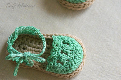Baby Girl Espadrille Shoes (Sizes include 0-12 months sizing)