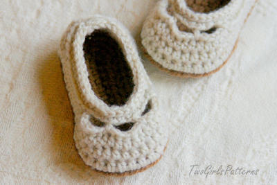 Baby Shoe Yoke Ballet Slipper
