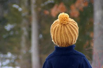 Crochet hat pattern - Awesome Knit Look Hat