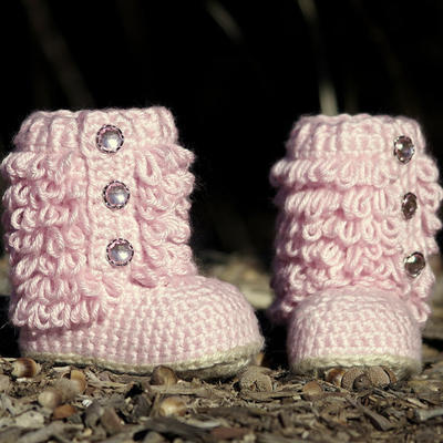 Crochet Pattern Little Diva Boot TODDLER sizes 4 - 9