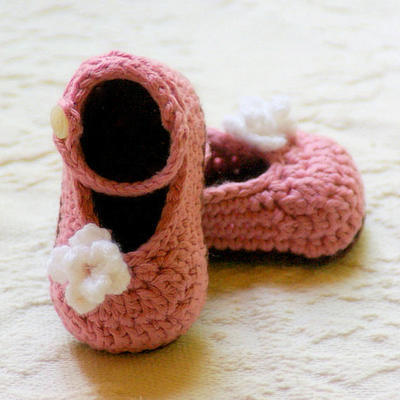 Mary Janes Crochet Pattern
