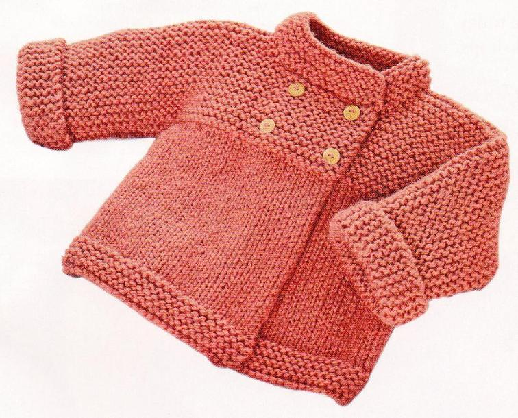Garter & Stocking Stitch Jacket