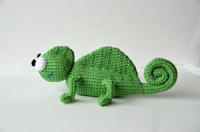 Chameleon - Animal Crochet
