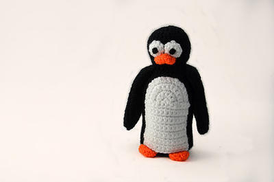 Cute Large Penguin