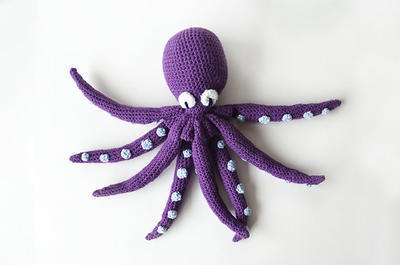 Davy Jones the Kraken - Ocean Theme - Octopus - Squid - Pirates - Nautical Amigurumi - Sea Animal Crochet