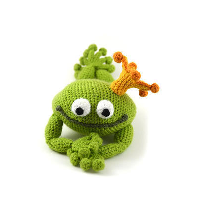 Handsome Frog Prince Crochet Pattern