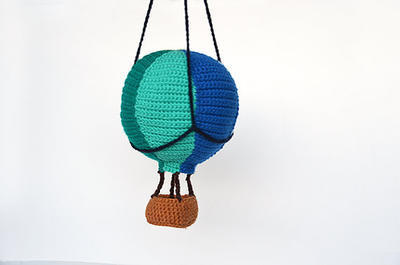 Hot Air Balloon - Adventure Amigurumi Toy