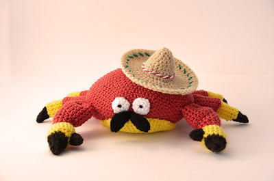 Juan Carlos the Mexican Crab Crochet Pattern
